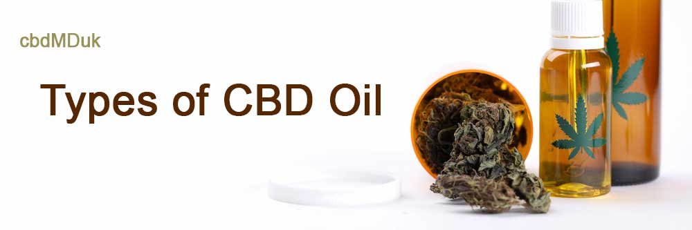 What are the Different Types of CBD Oil